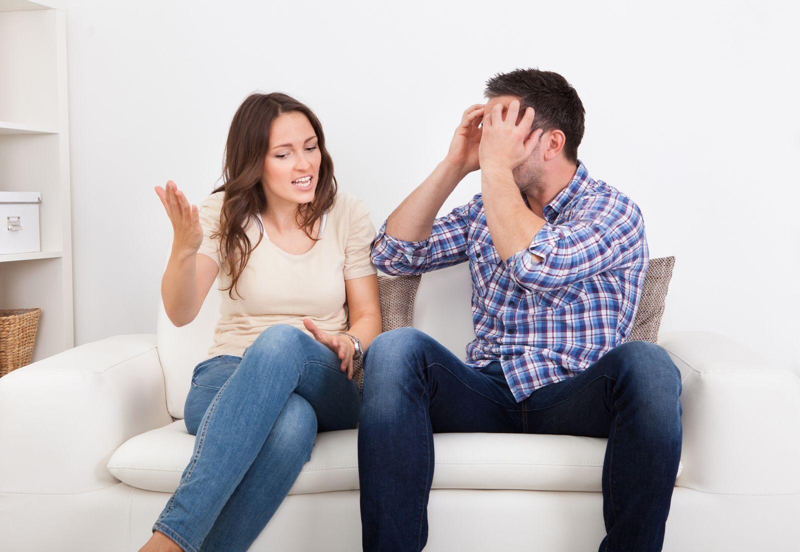 Смешные картинки муж и жена спорят, картинки про